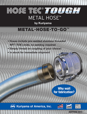 Metal Hose Flyer Metal-Hose-To-Go